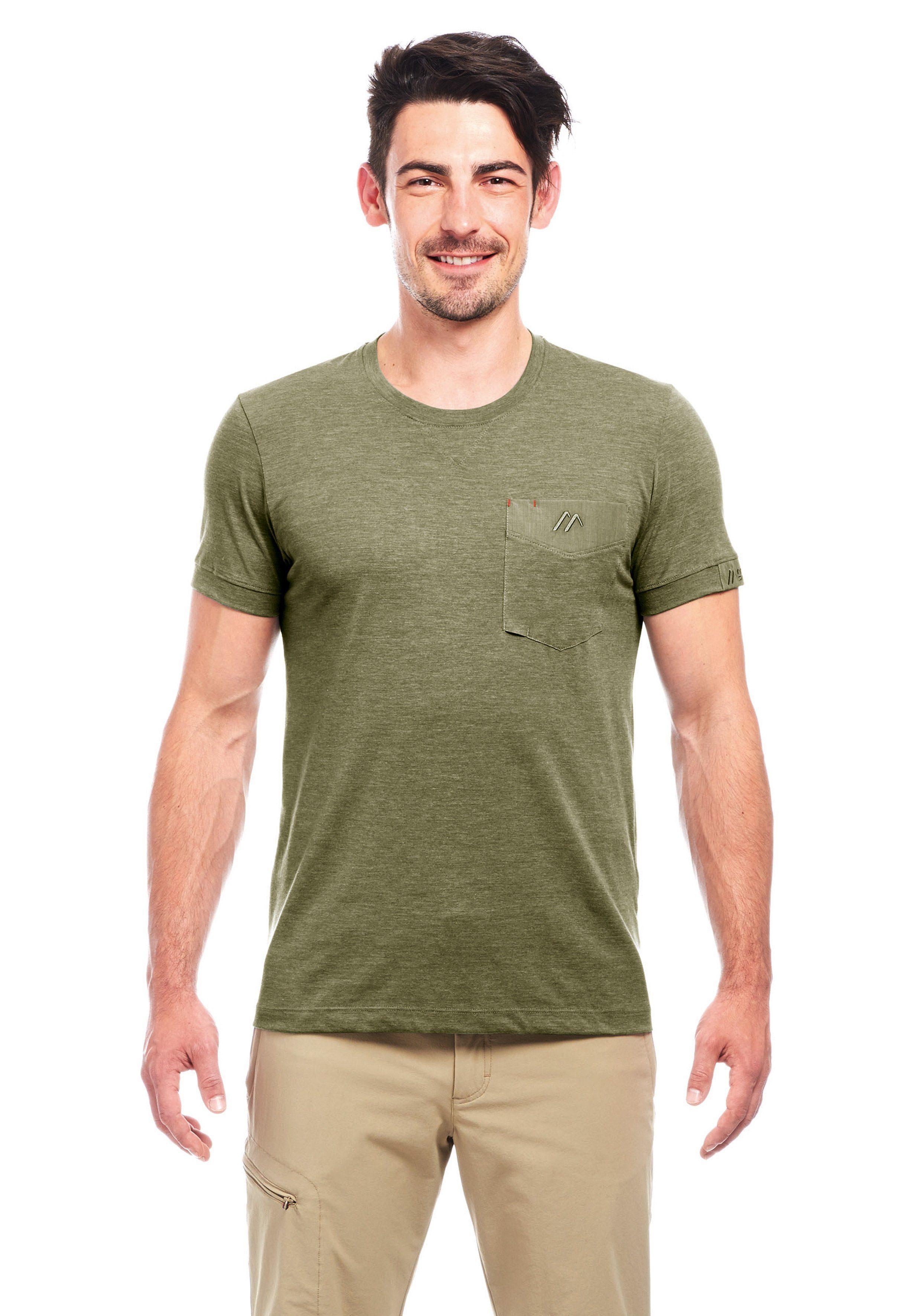 Herren Maier Sports Funktionsshirt »Doolin T-Shirt« grün | 04056286888715