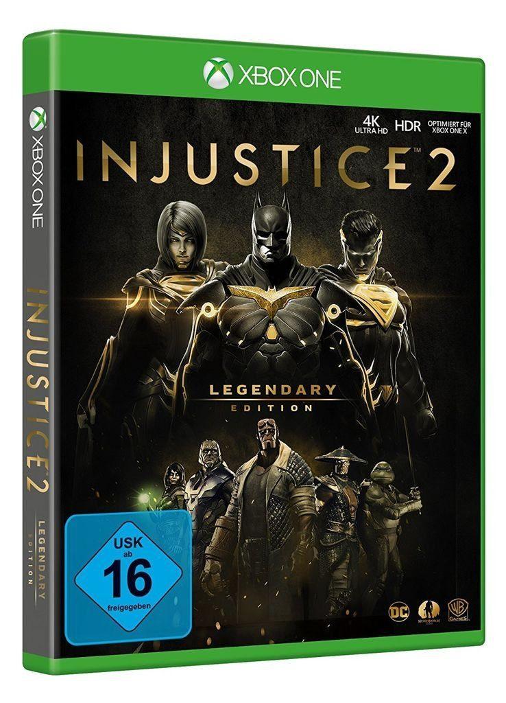 Warner Games XBOX One - Spiel »Injustice 2 - Legendary Edition«