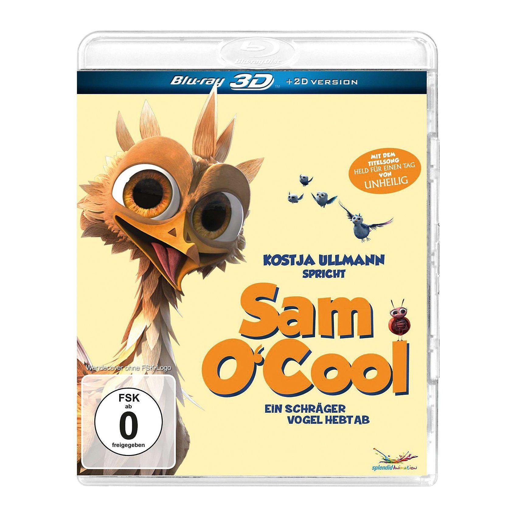 BLU-RAY Sam O'Cool - Ein schräger Vogel hebt ab! (3D + 2D Ve