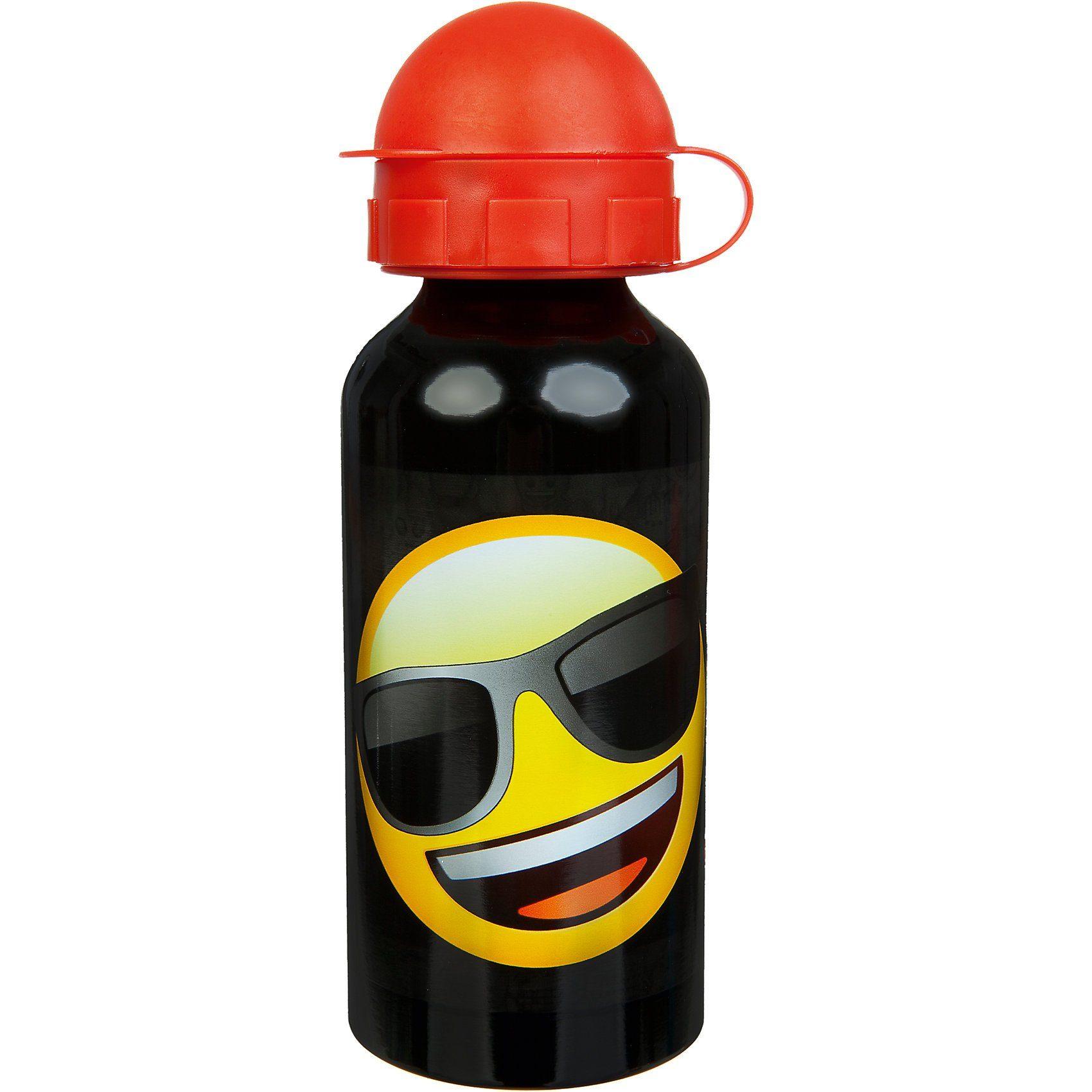UNDERCOVER Alu-Trinkflasche Emoji, 400 ml