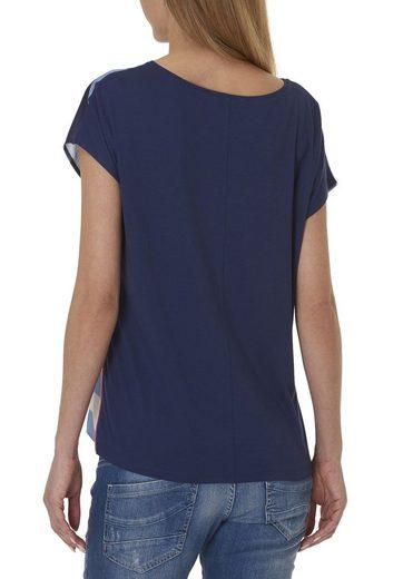 Cartoon Shirt In Trendy Striped Look