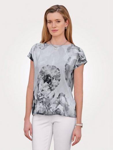 Mona Blusenshirt mit Blumendruck