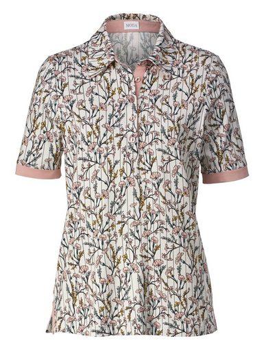 Mona Polo Shirt With Floral Print