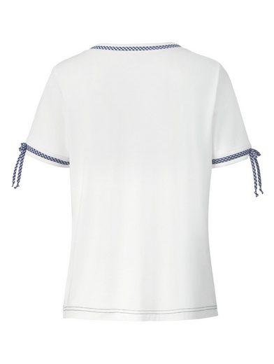 Mona Shirt mit romantischem Druckmotiv