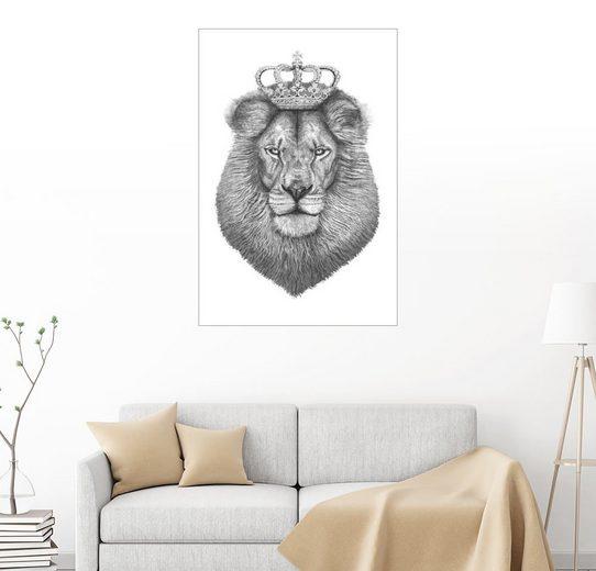 Posterlounge Wandbild - Valeriya Korenkova »The King«