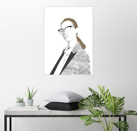 Posterlounge Wandbild - Wadim Petunin »Modeillustration IV«