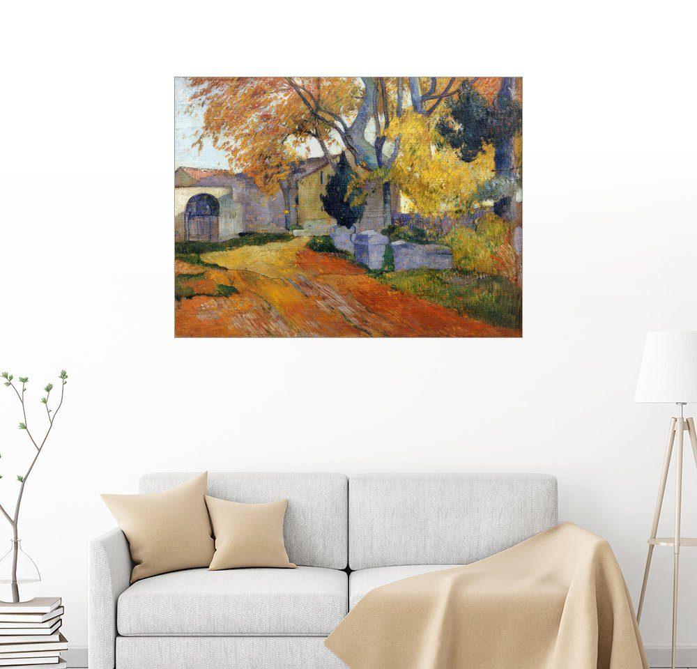 Posterlounge Wandbild - Paul Gauguin »L'Allee des Alyscamps«