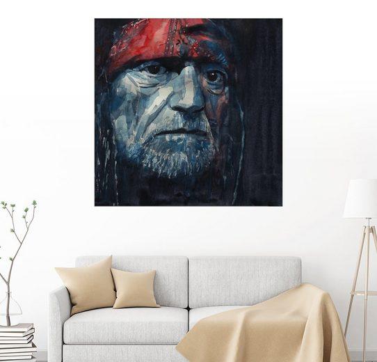 Posterlounge Wandbild - Paul Paul Lovering Arts »Always On My Mind - Willie Nelson«