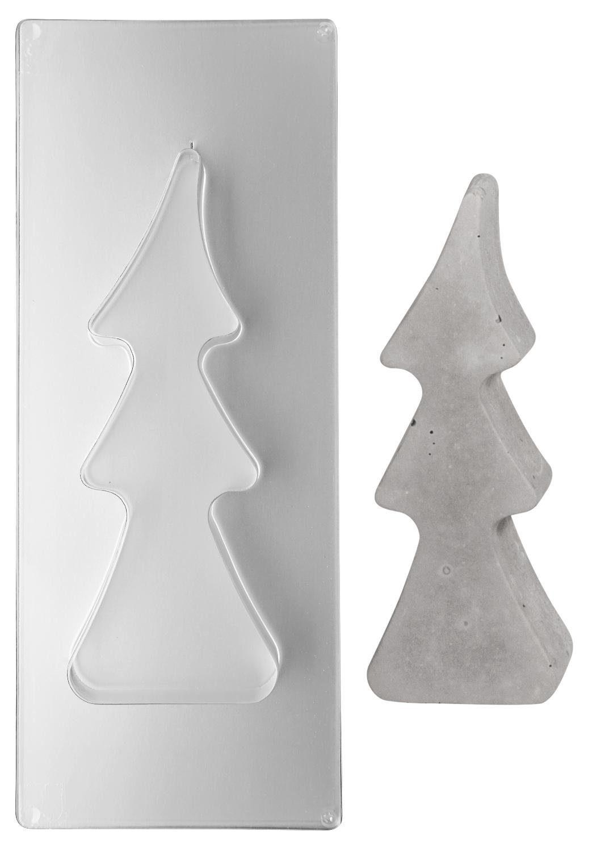 """Gießform """"Tannenbaum klein"""", ca. 9,5 x 25 cm"""