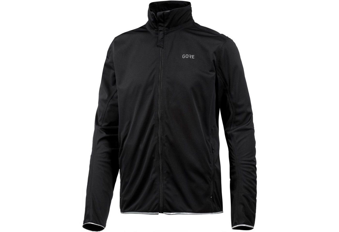 GORE® Wear Laufjacke »R3 GORE® WINDSTOPPER®« | Sportbekleidung > Sportjacken > Laufjacken | Schwarz | Polyester | GORE® Wear