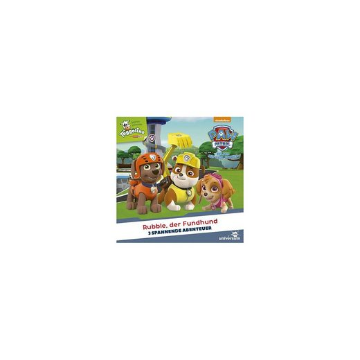 CD Paw Patrol 6 - Rubble, der Fundhund