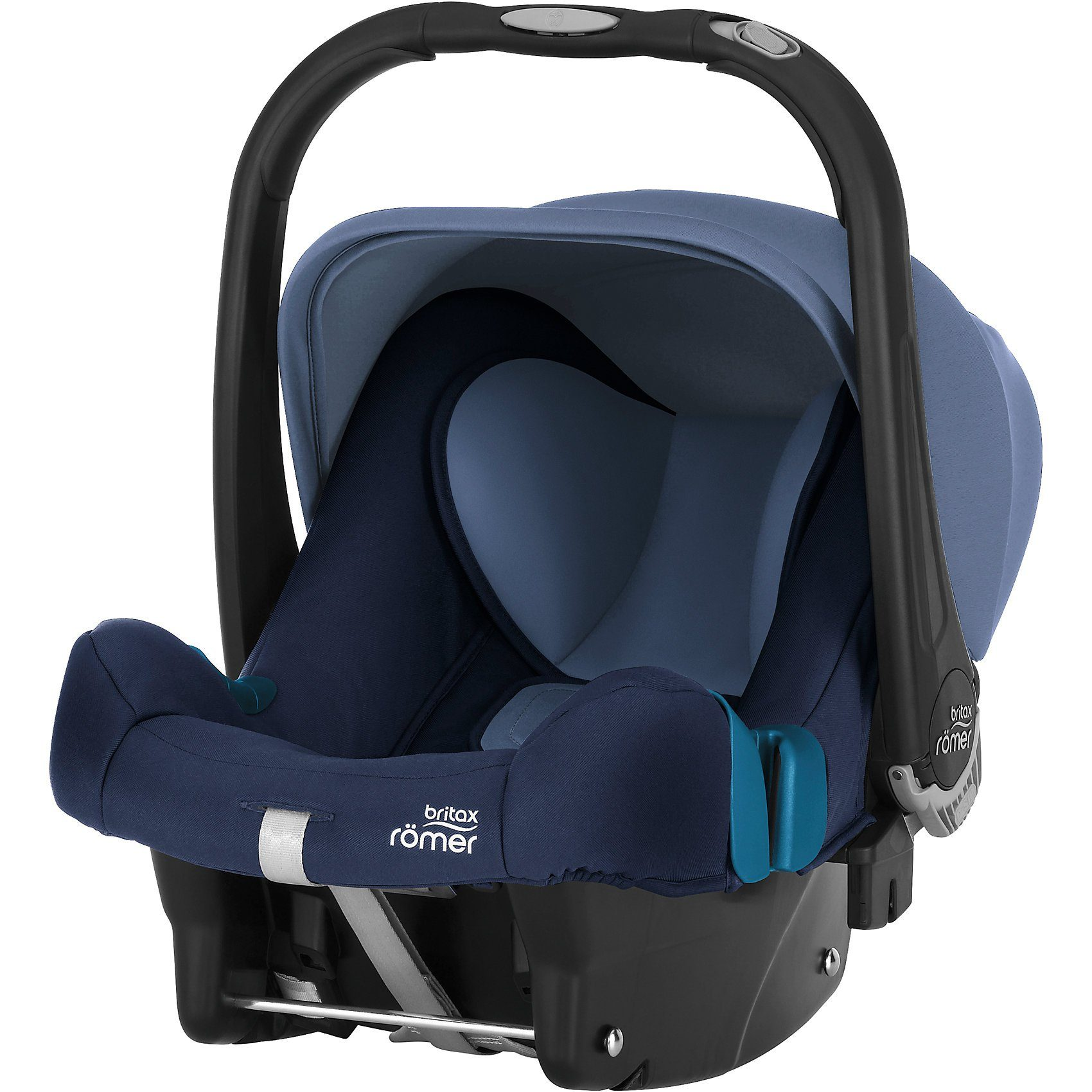 BRITAX RÖMER Babyschale Baby-Safe Plus SHR II, Moonlight Blue, 2019