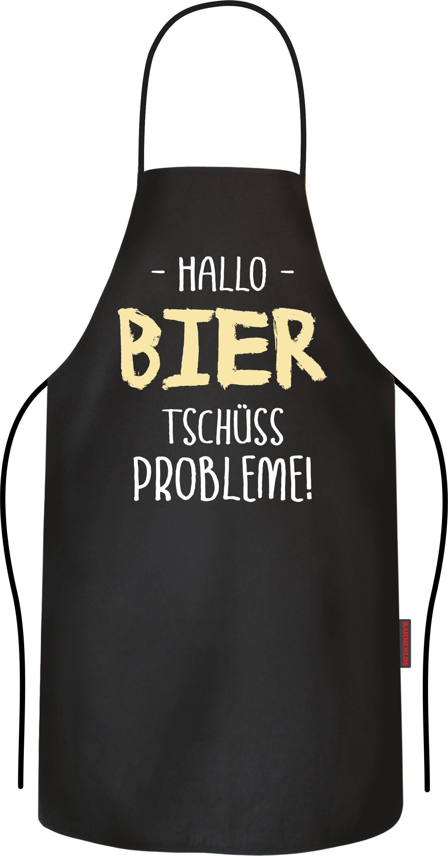 Rahmenlos Grillschürze mit lustigem Bier-Druck