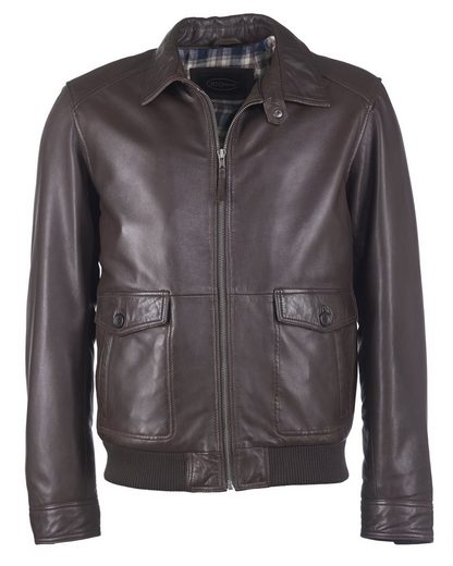 Jcc Leather Jacket With Breast Pocket Samuel