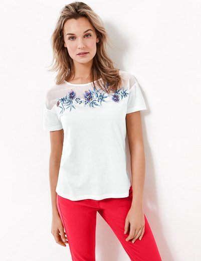 Typhoon T-shirt Short Sleeve Crew Neck Shirt With Embroidery