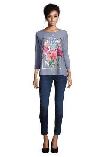 Cartoon Shirt mit Frontprint
