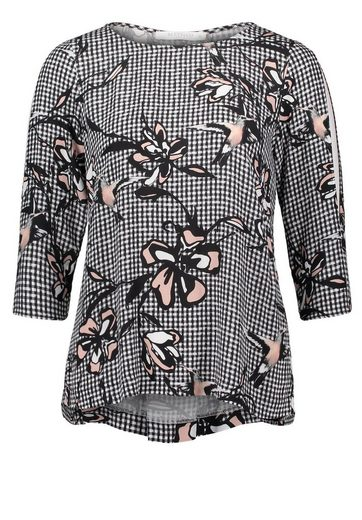 Betty&Co Bluse in trendigem Mustermix