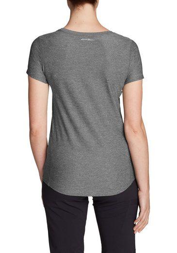 Eddie Bauer Infinity Shirt mit Rundhalsausschnitt - Kurzarm