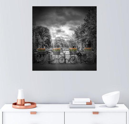 Posterlounge Wandbild - Melanie Viola »AMSTERDAM Herengracht«