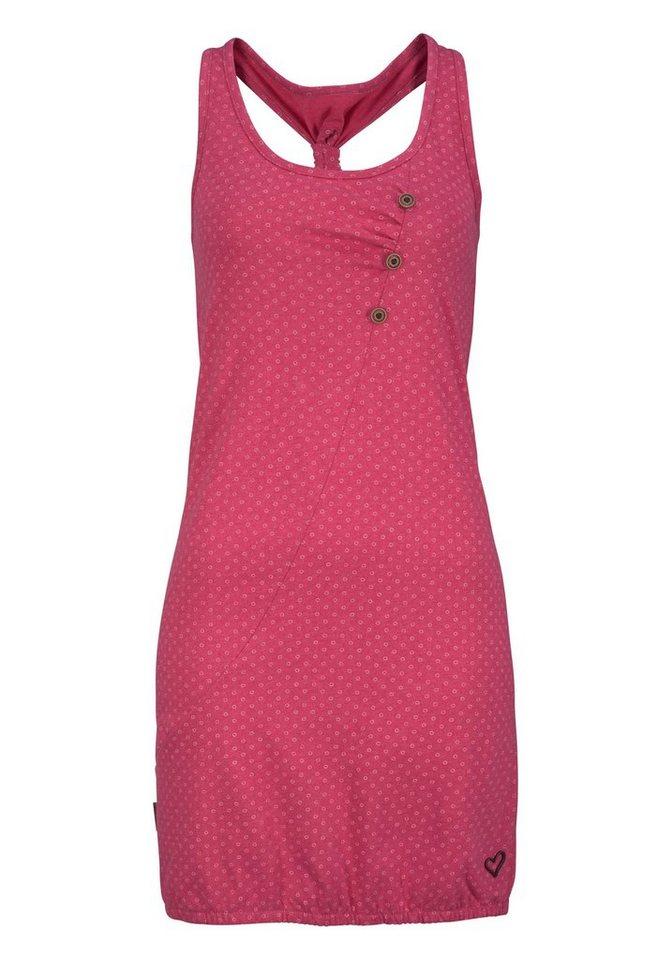 alife and kickin Druckkleid »CAMERON« (1-tlg) modisches Ringerrücken Kleid im Allover-Design