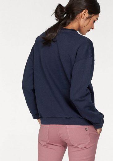 Pepe Sweatshirt Neck« »crew Jeans Mit Logo stickerei wprwAHq