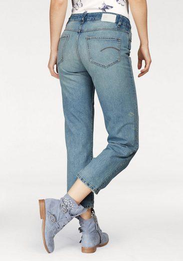 G-Star RAW Boyfriend-Jeans »Midge S High Boyfriend Wmn« mit Organic Cotton