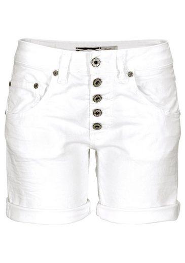 Please Jeans Jeansshorts P88A, mit prägnanter Knopfleiste