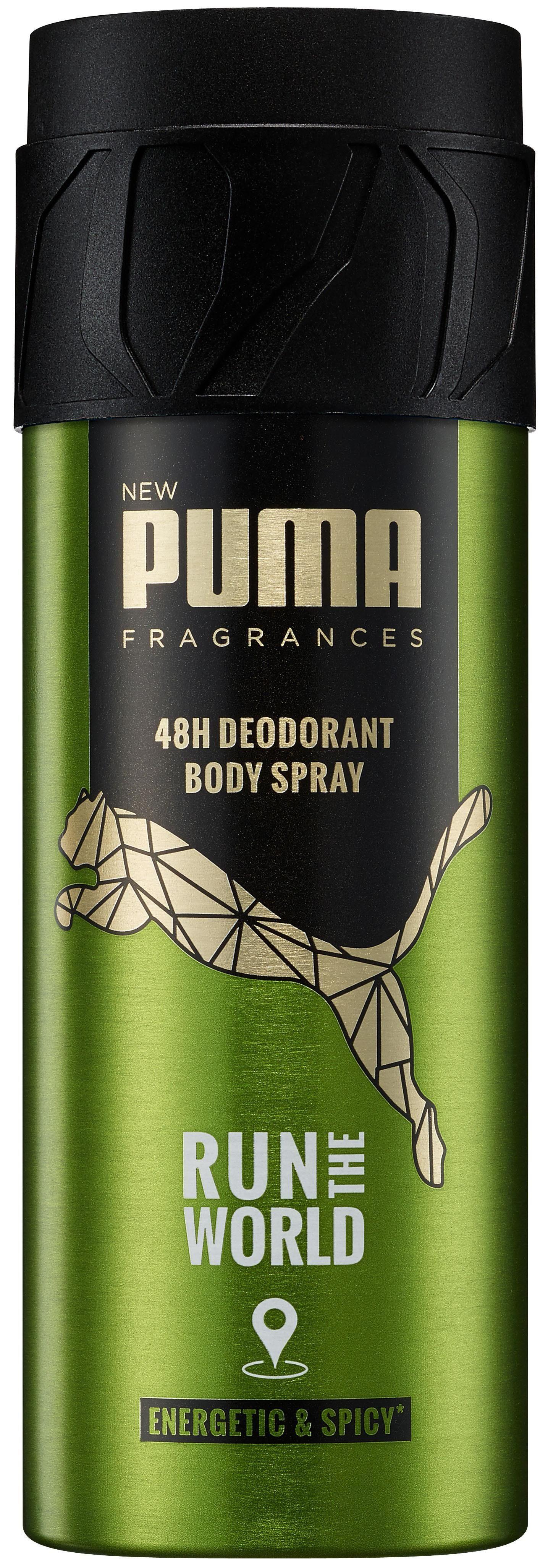 Puma, »Deo Run The World«, Bodyspray