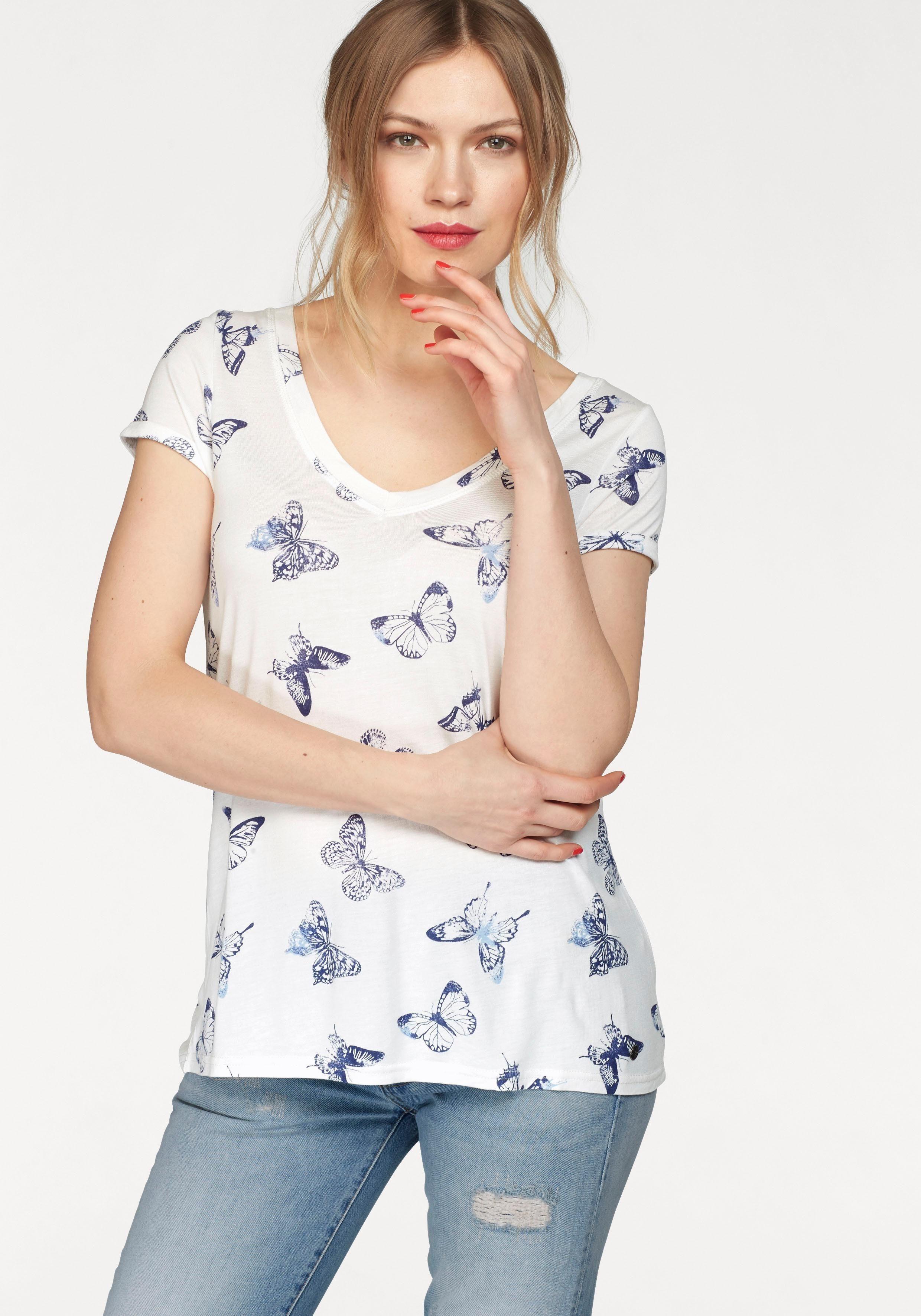 AJC T-Shirt mit Alloverprint