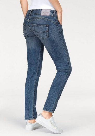 Herrlicher Slim-fit-Jeans »GILA SLIM« Low Waist Powerstretch