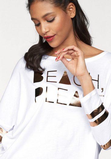 Candy print Langarmshirt Cotton »bente« Mit Metallic 0qR48d