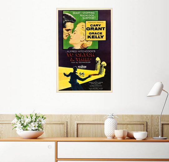 Posterlounge Wandbild »Über den Dächern von Nizza«