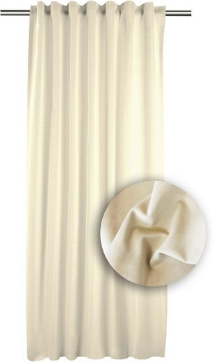 Vorhang »TASSILO«, APELT, Smokband (1 Stück), Tassoli, Fertigschal mit Universalband