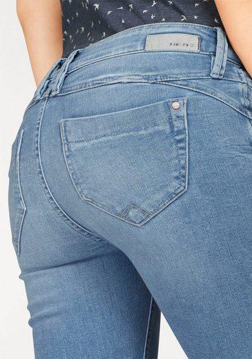 GANG Skinny-fit-Jeans NIKITA, Coin-Pocket mit Reißverschluss