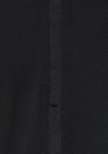 eksept Rundhalsshirt GIBBY TOP, mit Rückenausschnitt