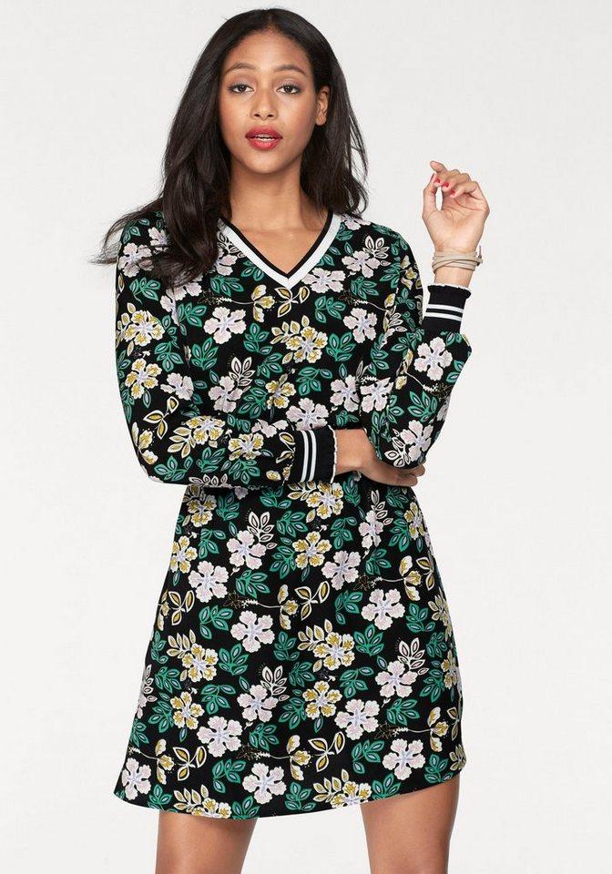 eksept druckkleid one dress mit blumen print otto. Black Bedroom Furniture Sets. Home Design Ideas