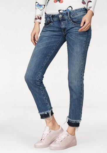 Herrlicher Slim-fit-Jeans »GILA SLIM CROPPED« Low Waist