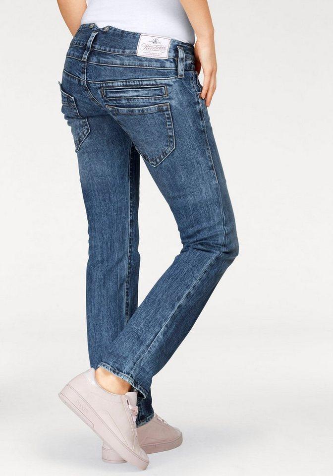 herrlicher straight jeans pitch straight low waist. Black Bedroom Furniture Sets. Home Design Ideas