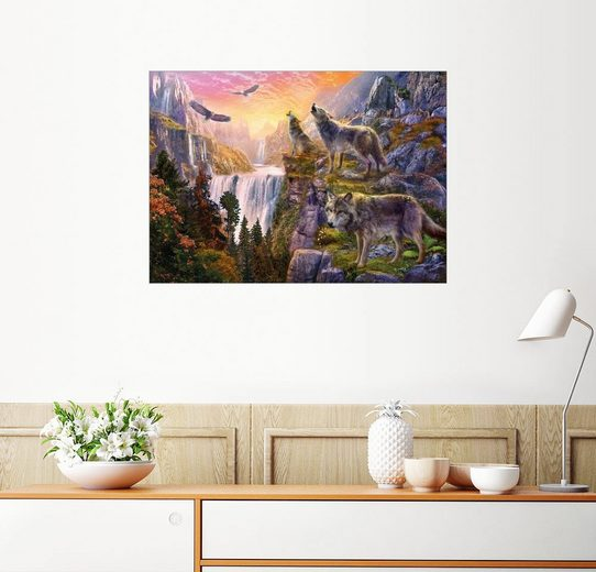 Posterlounge Wandbild - Jan Patrik Krasny »Der Berg der Wölfe«