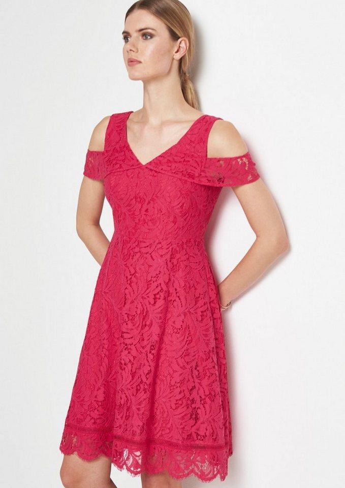 COMMA Extravagantes Abendkleid aus zarter Spitze | OTTO