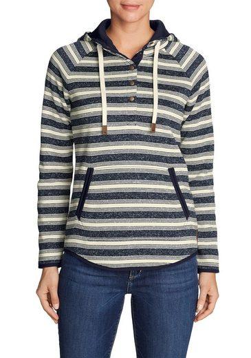 Eddie Bauer Radiator Strickfleece Pullover - geringelt