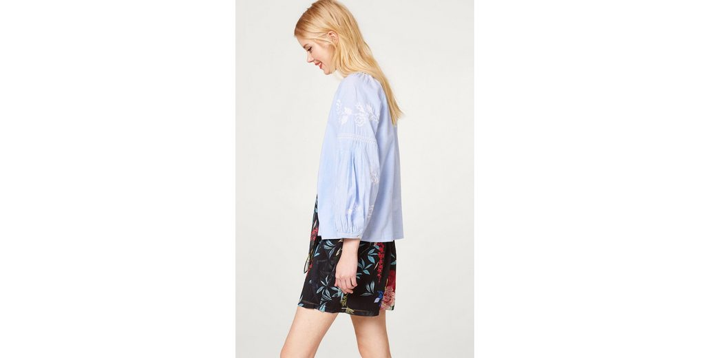 EDC BY ESPRIT Bestickte Blusen-Jacke aus Baumwolle Spielraum Sast Verkaufen Sind Große Viele Farben Verkauf Countdown-Paket sHQUAM