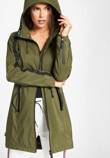 Khujo Short Coat Livani, Hooded