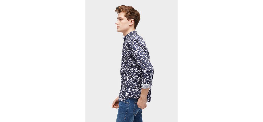 Online Spielraum Wirklich Tom Tailor Denim Hemd gemustertes Hemd Billig Heißen Verkauf 4wqiZV7Ies