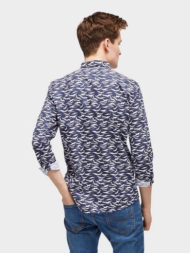 Tom Tailor Denim Hemd gemustertes Hemd