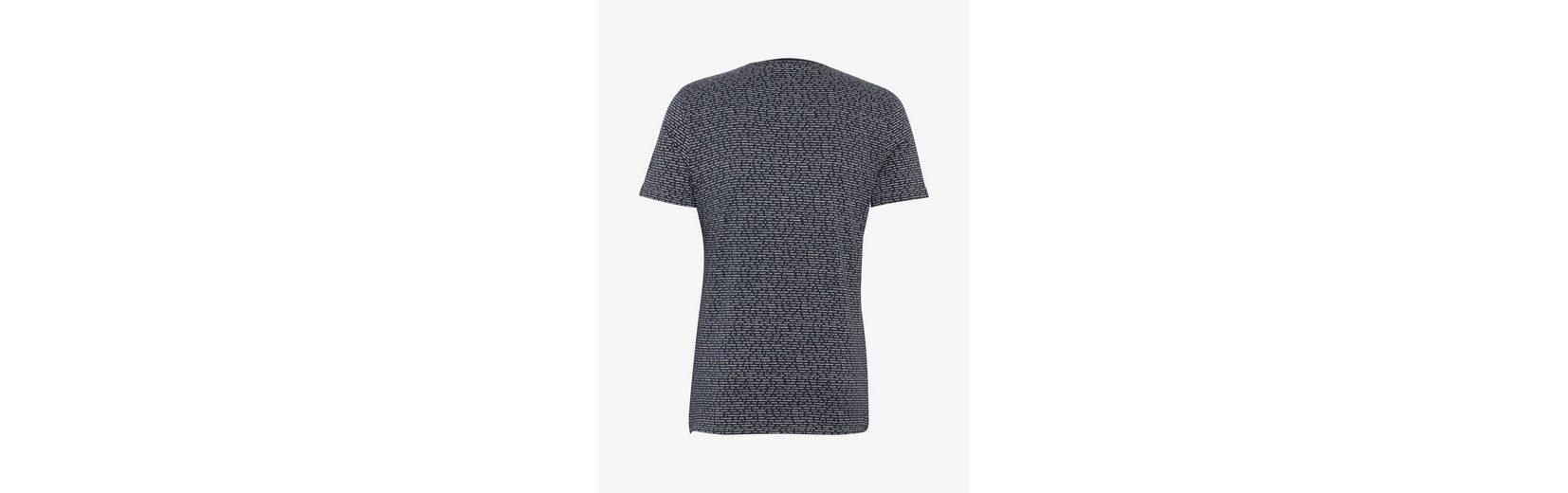 Tom Tailor T-Shirt gemustertes T-Shirt mit Brusttasche Günstig Kaufen Extrem Günstig Kaufen Besuch Neu Factory-Outlet-Verkauf Online Bestseller Günstig Online omAMkFCM