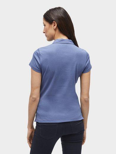 Tom Tailor T-Shirt schlichtes Polo-Shirt