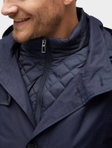 Tom Tailor Kurzmantel 2-in-1 Jacke mit herausnehmbarer Innenjacke