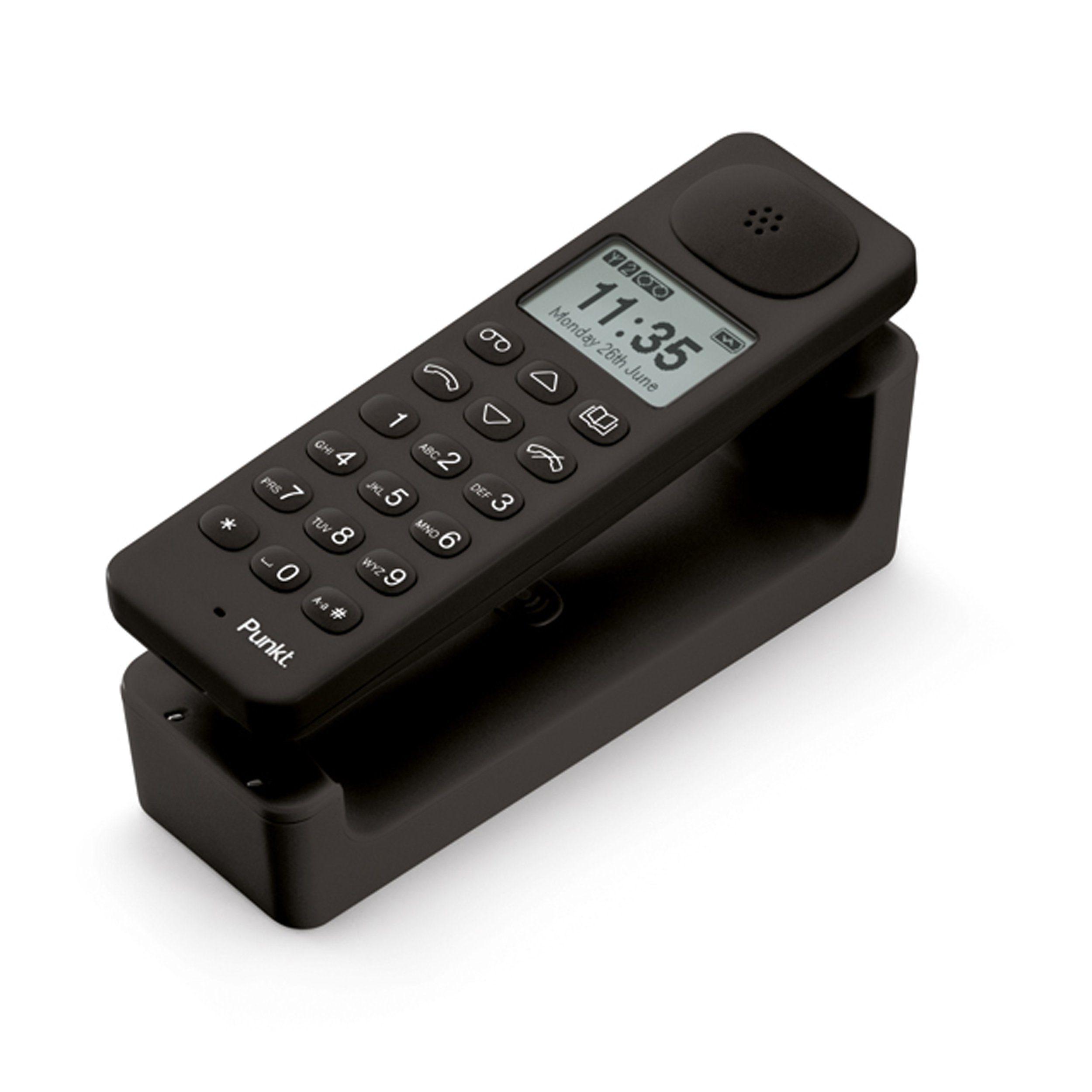 Punkt Schnurloses DECT-Telefon mit Anrufbeantworter »DP01«