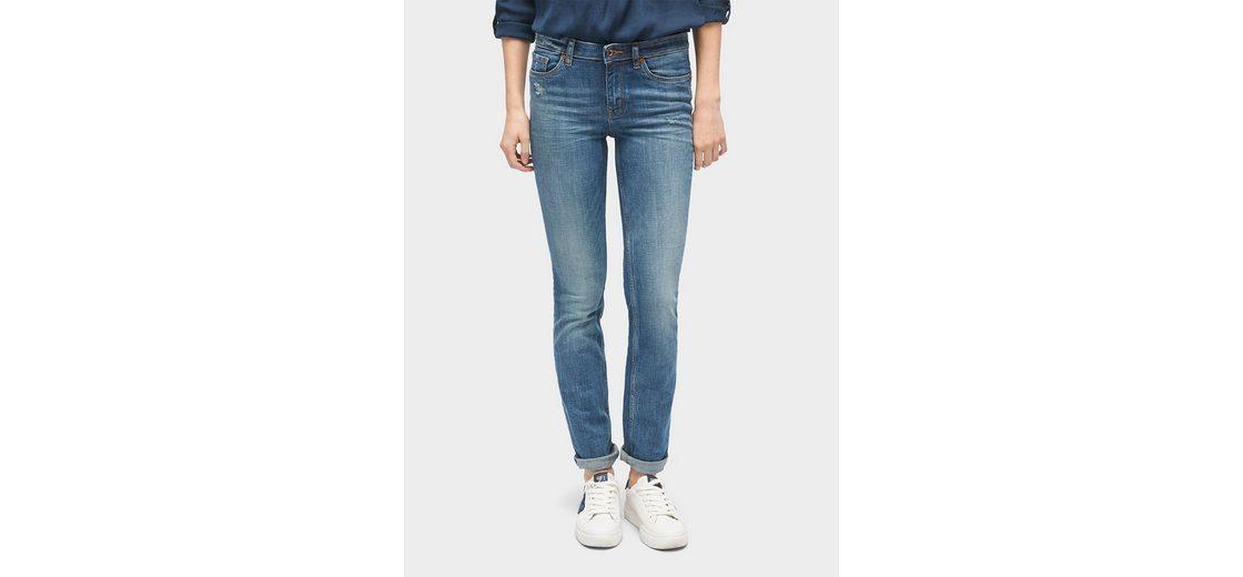 Tom Tailor Denim 5-Pocket-Jeans Elsa Mid Blue Jeans Spielraum Billig UmuPi